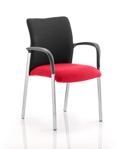 Academy Black Back Seat with Arms Bergamot Cherry