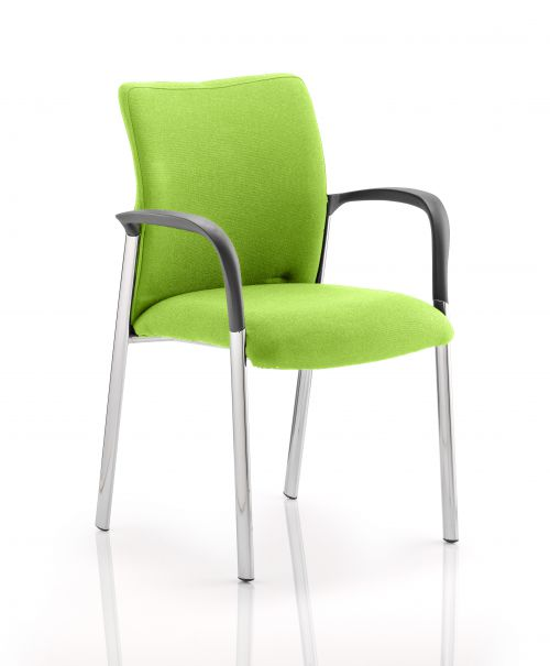 Academy Bespoke Colour Fabric Back And Bespoke Colour Seat With Arms Myrrh Green