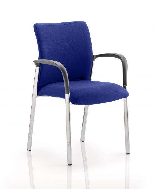 Academy Bespoke Colour Fabric Back And Bespoke Colour Seat With Arms Stevia Blue