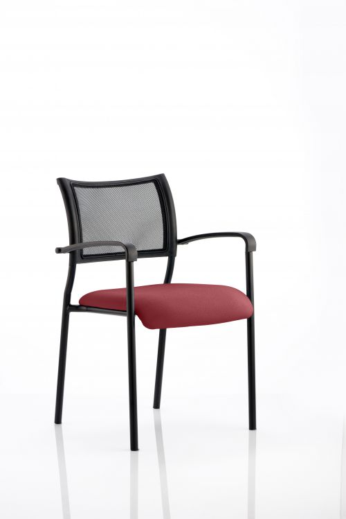 Brunswick Bespoke Colour Seat Black Frame Ginseng Chilli