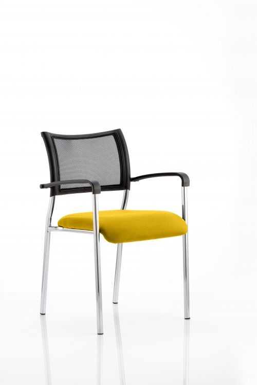 Brunswick Bespoke Colour Seat Chrome Frame Senna Yellow
