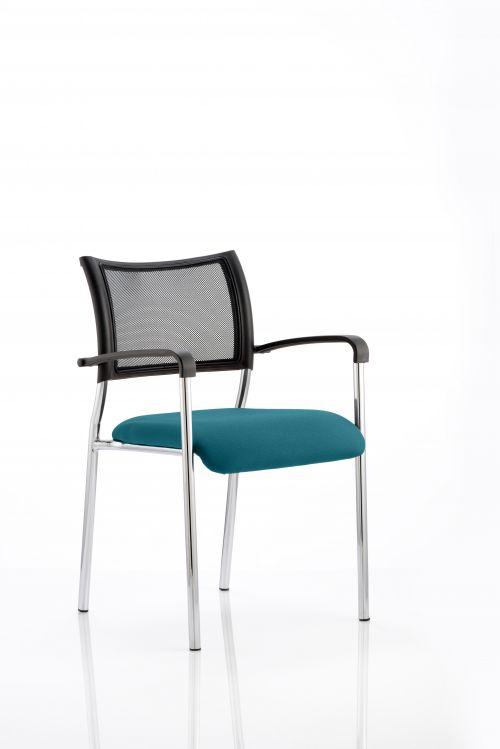 Brunswick Bespoke Colour Seat Chrome Frame Maringa Teal