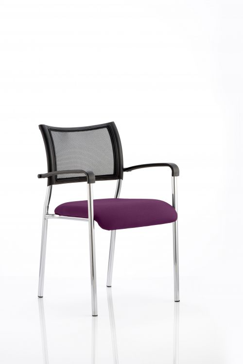 Brunswick Bespoke Colour Seat Chrome Frame Purple