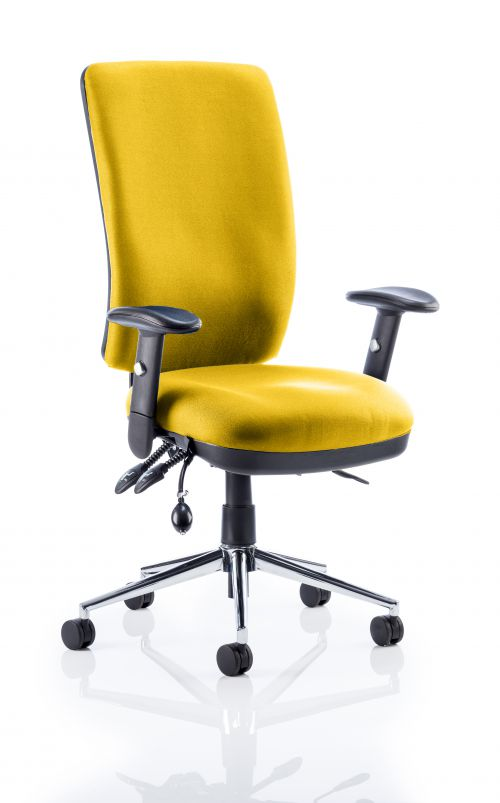 Chiro High Back Bespoke Colour Yellow