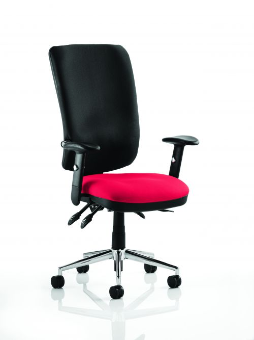 Chiro High Back Bespoke Colour Seat Post Box Red