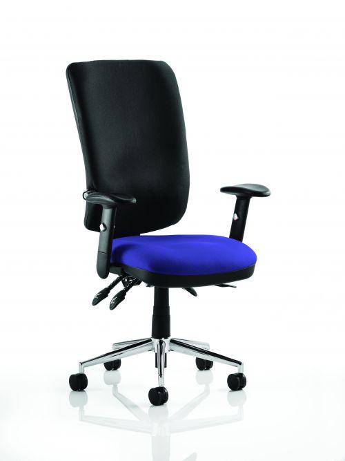 Chiro High Back Bespoke Colour Seat Admiral Blue