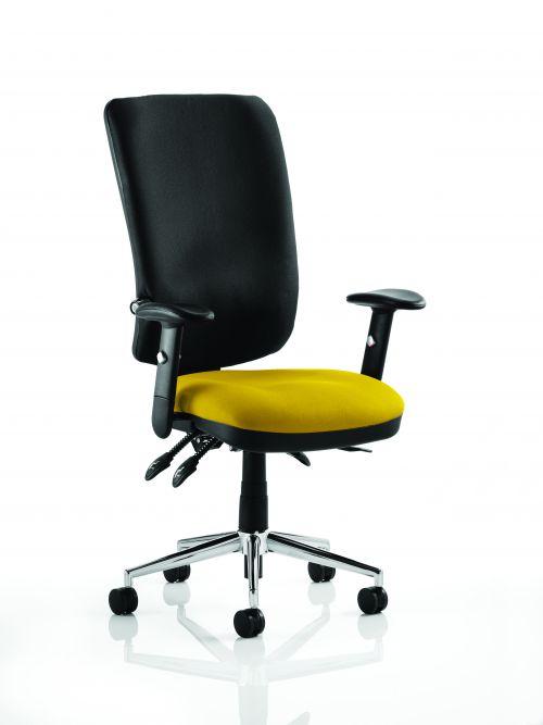Chiro High Back Bespoke Colour Seat Yellow