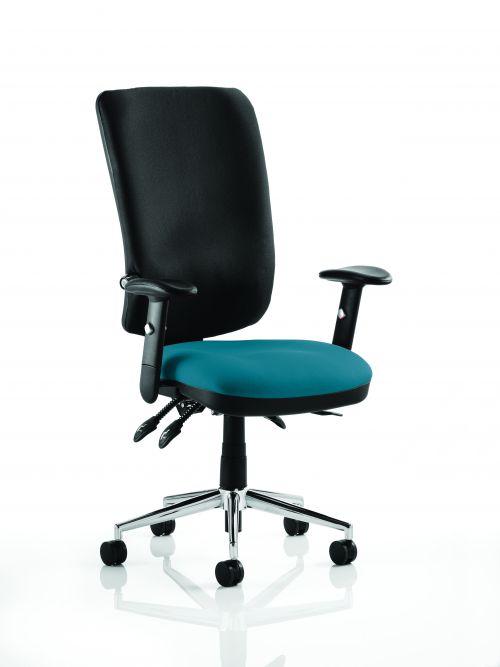 Chiro High Back Bespoke Colour Seat Teal