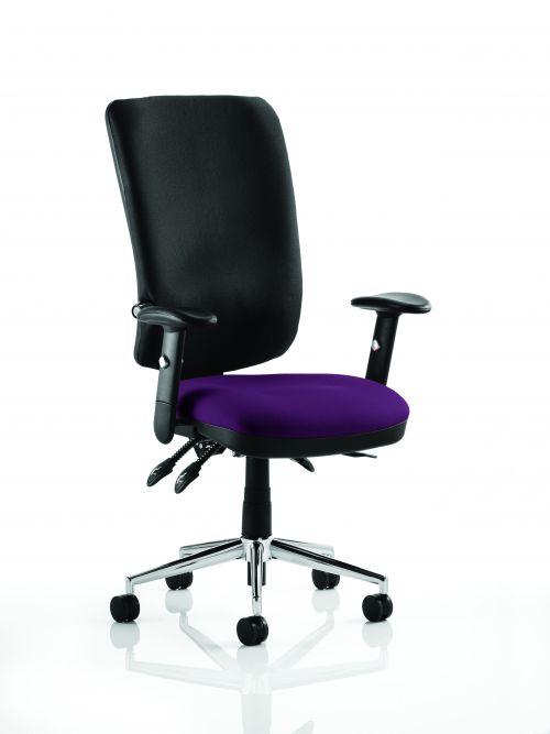 Chiro High Back Bespoke Colour Seat Purple