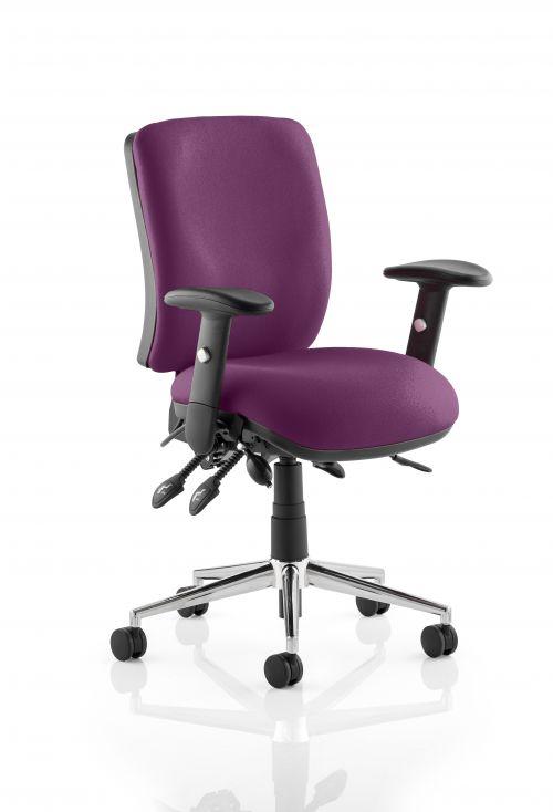 Chiro Medium Back Bespoke Colour Purple