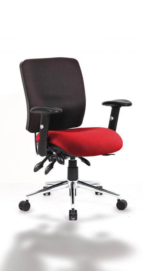 Chiro Medium Back Bespoke Colour Seat Post Box Red