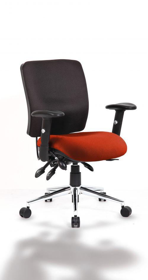 Chiro Medium Back Bespoke Colour Seat Orange