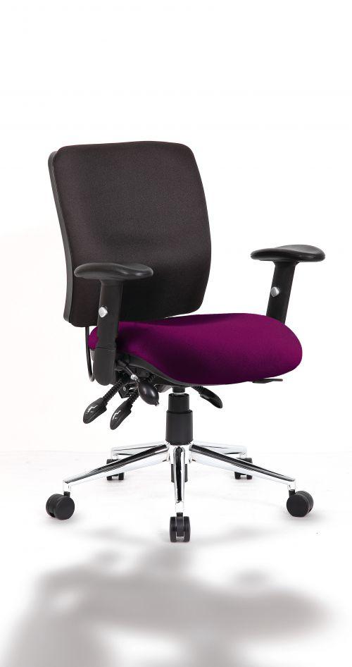 Chiro Medium Back Bespoke Colour Seat Purple