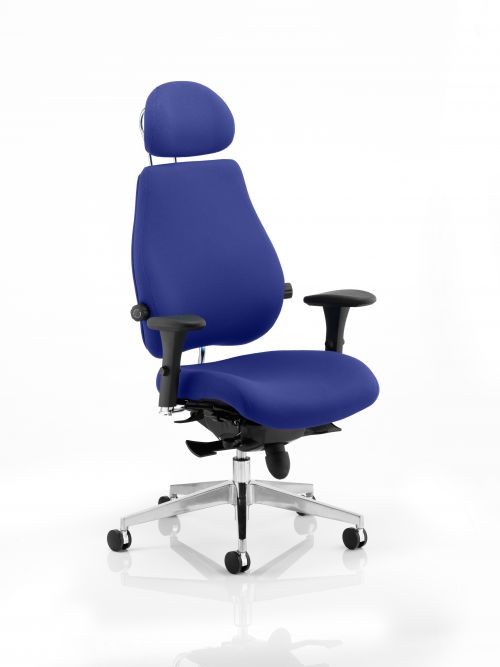 Chiro Plus Ultimate With Headrest Bespoke Colour Admiral Blue