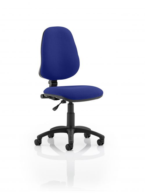 Eclipse I Lever Task Operator Chair Bespoke Colour Admiral Blue