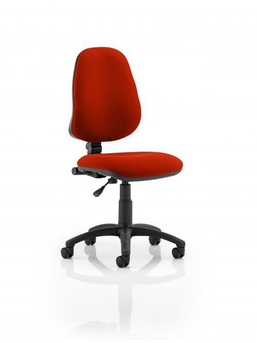Eclipse I Lever Task Operator Chair Bespoke Colour Orange