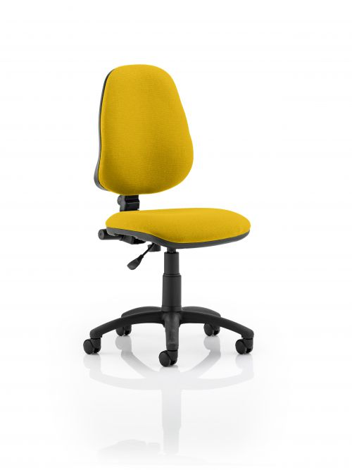 Eclipse I Operator Chair Yellow  Free Delivery