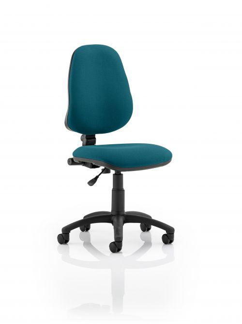 Eclipse I Lever Task Operator Chair Bespoke Colour Teal