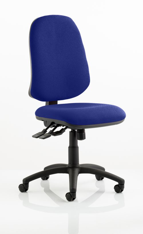 Eclipse XL Lever Task Operator Chair Bespoke Colour Admiral Blue