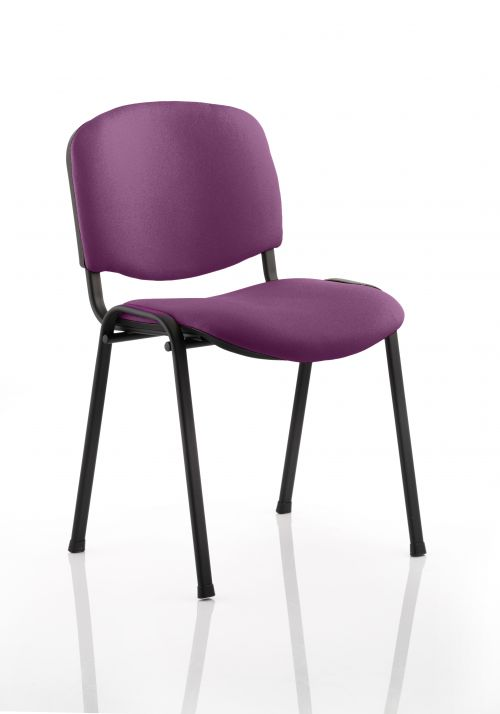 ISO Black Frame Bespoke Colour Fabric - (Min Order Qty X 4) Purple