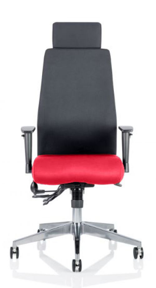 Onyx Bespoke Colour Seat With Headrest Post Box Red
