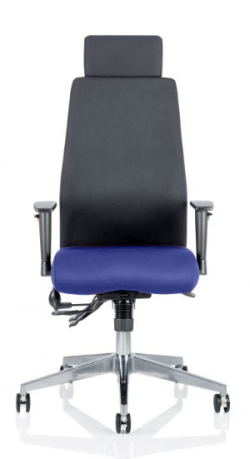 Onyx Bespoke Colour Seat With Headrest Admiral Blue