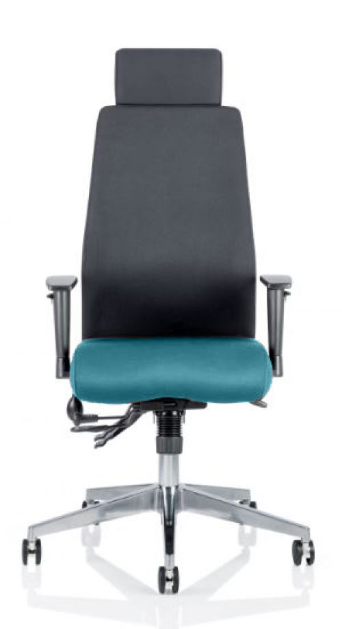 Onyx Bespoke Colour Seat With Headrest Teal
