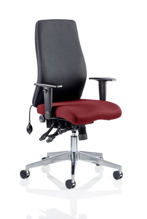Onyx Bespoke Colour Seat Without Headrest Ginseng Chilli