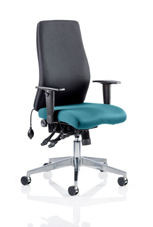 Onyx Bespoke Colour Seat Without Headrest Teal