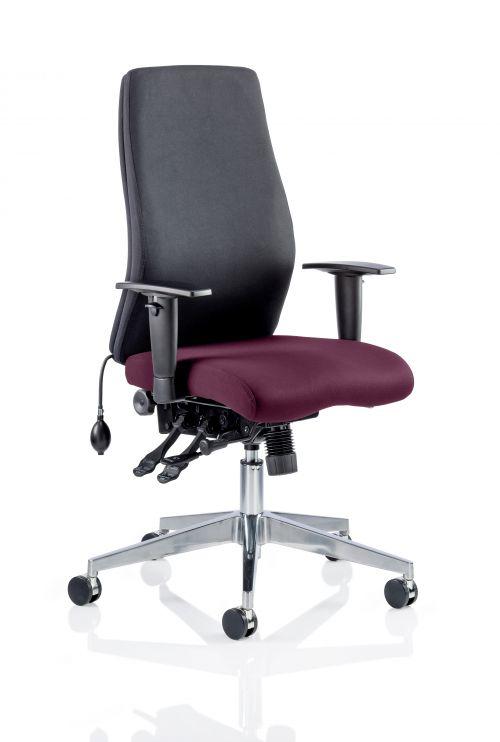 Onyx Bespoke Colour Seat Without Headrest Purple