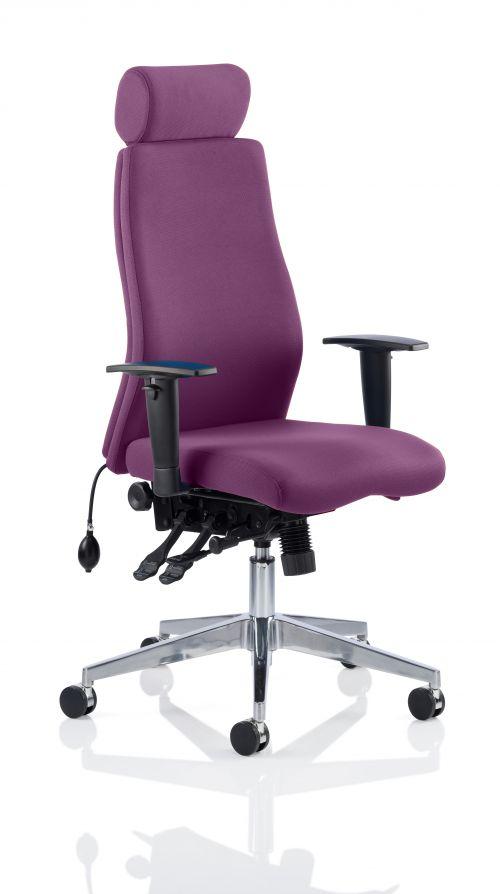 Onyx Bespoke Colour With Headrest Purple