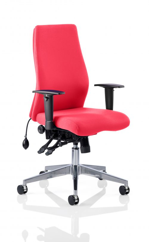Onyx Bespoke Colour Without Headrest Post Box Red
