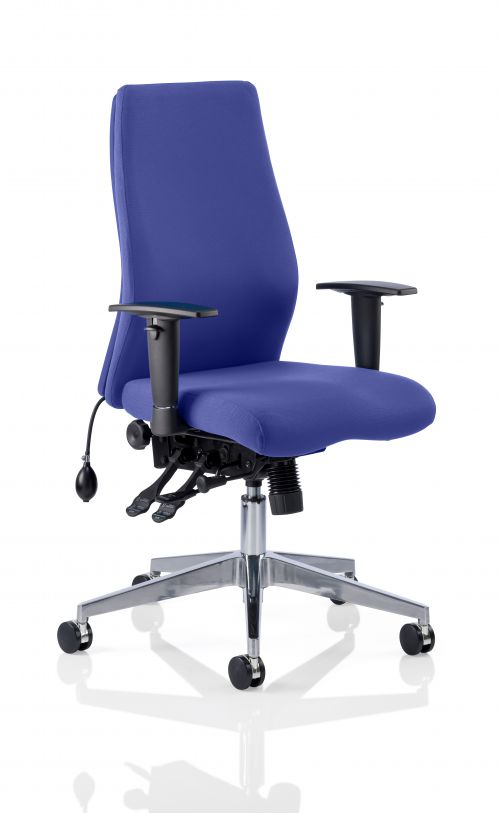 Onyx Bespoke Colour Without Headrest Admiral Blue
