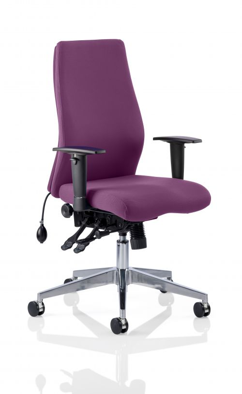 Onyx Bespoke Colour Without Headrest Purple