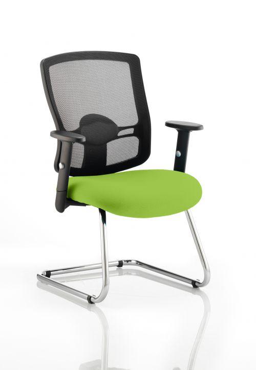 Portland Cantilever Bespoke Colour Seat Lime