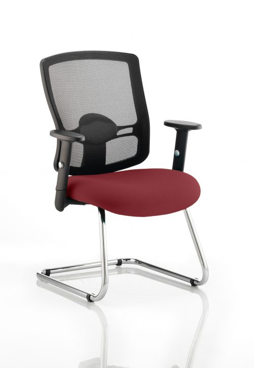 Portland Cantilever Bespoke Colour Seat Ginseng Chilli