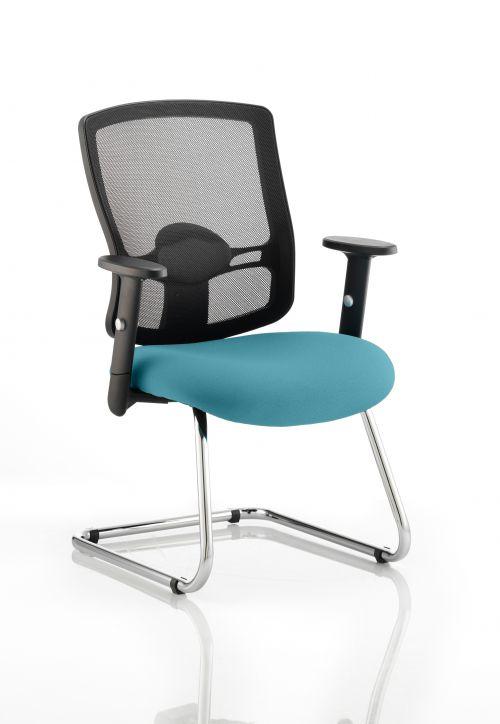 Portland Cantilever Bespoke Colour Seat Teal