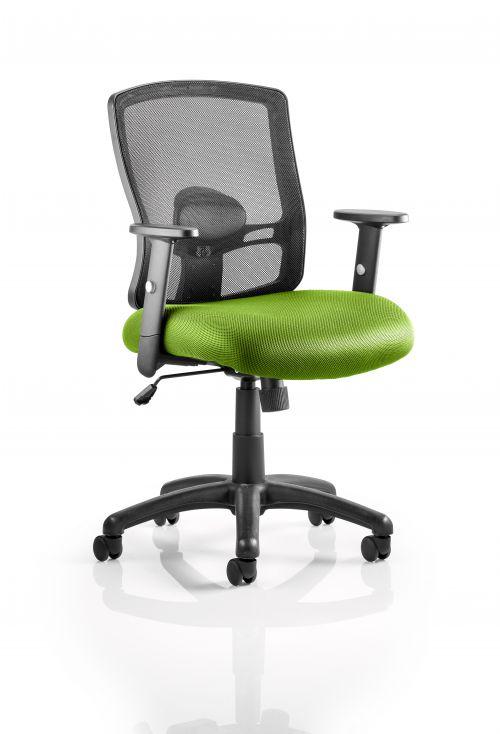 Portland Task Operator Bespoke Colour Seat Lime