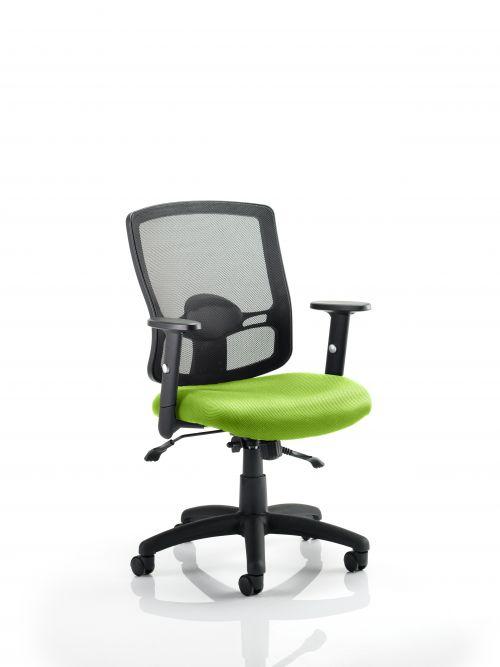 Portland II With Bespoke Colour Seat Lime