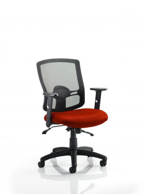 Portland II With Bespoke Colour Seat Orange