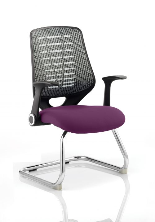 Relay Cantilever Bespoke Colour Silver Back Purple