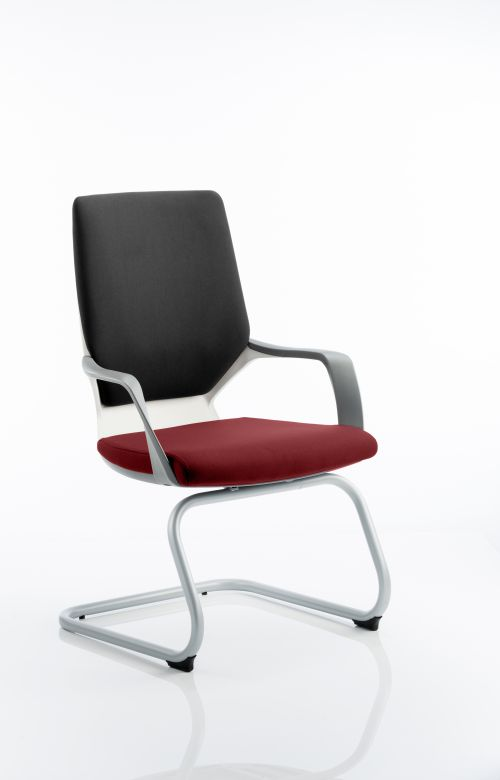 Xenon Visitor White Shell Bespoke Colour Seat ginseng Chilli
