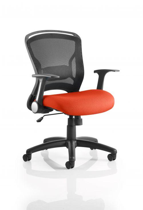 Zeus Bespoke Colour Seat Orange
