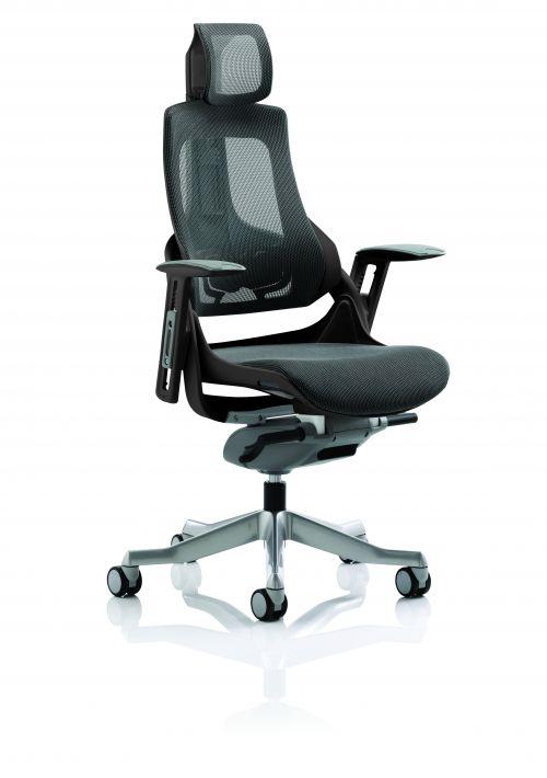 Zure Executive Chair Black Frame Charcoa KCUP1281