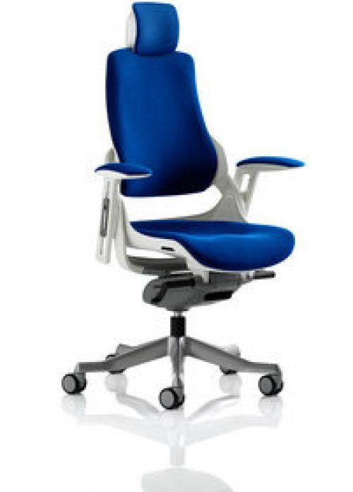 Zure With Headrest Fully Bespoke Colour Stevia Blue