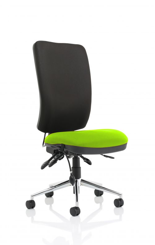 Chiro High Back Bespoke Colour Seat Lime No Arms