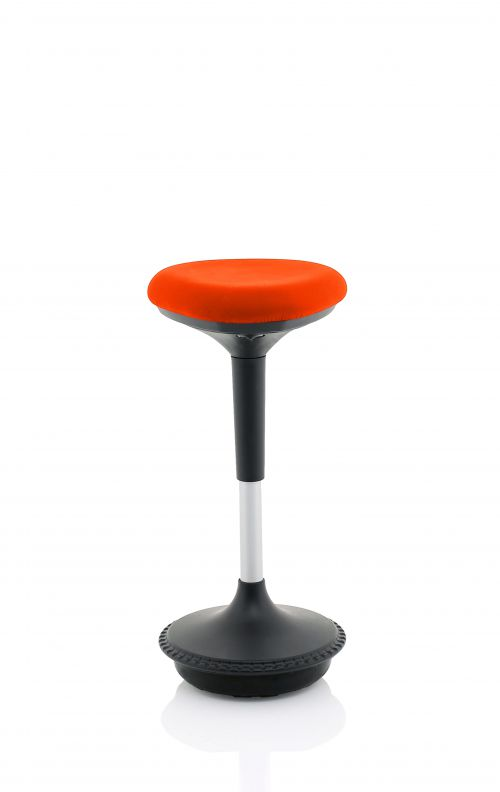 Sitall Deluxe Visitor Stool Bespoke Seat Tabasco Red KCUP1554