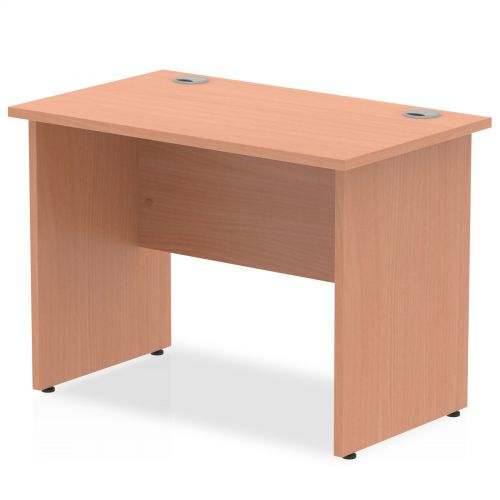 Impulse 1000/600 Rectangle Panel End Leg Desk Beech