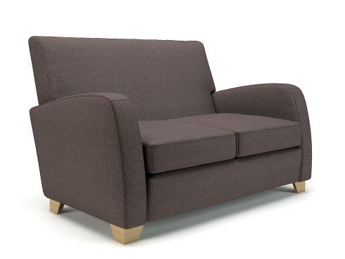 Wynne 132cm Wide Sofa History Fabric Light Wood Feet