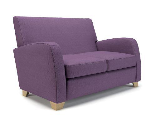 Wynne 132cm Wide Sofa Prime Fabric Light Wood Feet